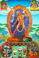 13 Inch Tibet Buddhism Thangka Protector Deity Vajrayogini DAKINI Goddess