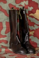 Stivali da marcia ufficiale tedesco NVA German leather boots Est Germany officer