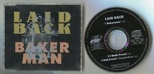 Laid Back Maxi-CD BAKERMAN extended remix 6:02 © 1989 vocals by hanne boel 3-tr.
