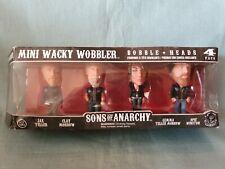 Funko Sons Of Anarchy Set Of 4 Mini Wacky Wobbler Bobble Heads Boxed GC