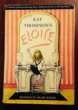 """Eloise"" by Kay Thompson- 1955- 6th Printing- w/Jacket"