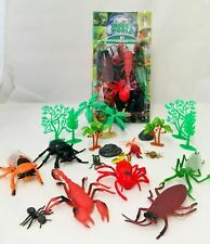 Geschenk Spielzeug Wissenschaft Natur Plastik 4-3 Insekten Nachtleuchtend