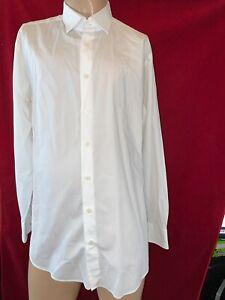 """CHARLES TYRWHITT, Slim Fit, White , Long Sleeve Shirt. Collar 17"""""""