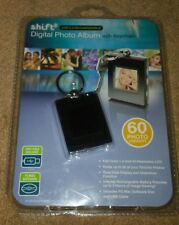 PHOTO SHIFT USB 2.0 RECHARGEABLE DIGITAL PHOTO ALBUM WITH KEYCHAIN,60 IMAGES,NIB