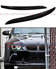 ABS UNPAINTED PRIMER HEADLIGHT EYE LID COVER EYEBROWS FOR 07-2012 BMW E92 COUPE