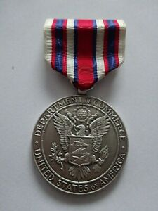 (A52-3) US Department of Commerce Silver Medal