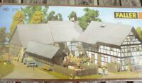 Faller 370 H0 Dreiseit-Hof großer Bauernhof neuwertig,OVP,werkseitig ausverkauft