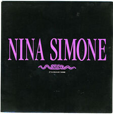 "NINA SIMONE It's Cold Out Here (single edit) 1989 7"" new unplayed Arthur Adams"