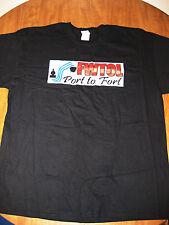 FWTOL tee XL Port to Fort T shirt Adventure Race 5K Muskogee Baltimore