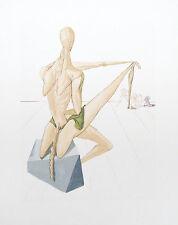 Salvador Dali The Divine Comedy Inferno #5 Woodblock Art Print Make Offer