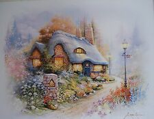 MOVING SALE! LOT OF 8 ORPINAS COTTAGE ON BEND LIGHT POST 16X20 WOW 8 GIFTS