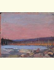 A Northern Lake, Tom Thomson. Blank Journal : 150 Blank Pages, 8,5x11 Inch...