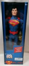 "SUPERMAN - *New MIB* Superman 14"" Inch Articulate Figure Mego Marty Abrams DC"