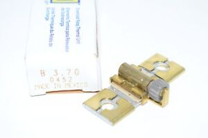 New Square D Thermal Overload Heater Element Unit B3.70 0452
