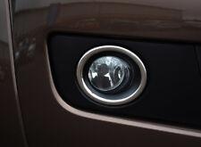 Chrome Fog Light Lamp Trim Covers Accents Set To Fit Volkswagen Amarok (10-16)