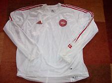 2004 Dinamarca 2006 L/S Reproductor problema de doble capa Camiseta De Fútbol Adultos XXL Jersey