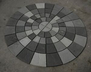 3460mm Rotunda Patio Grey Blend  Incl del (exceptions see description ).