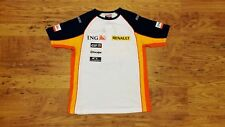 TEAM RENAULT 2008 ING F1 FORMULA ONE T SHIRT S UK 6/8 OFFICIAL MERCHANDISE