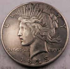 1935-S Peace Dollar // Choice AU-Uncirculated(toned) // 90% Silver // (PD105)