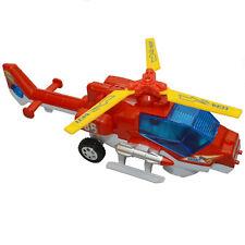 Kinder Spielzeug Heli Helikopter Hubschrauber Selbstfahrend LED Licht & Sound