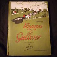 Jonathan Swift: Voyages de Gulliver illustrations de Job Paris 1927