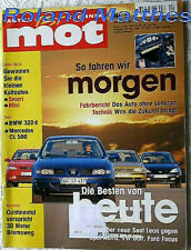 MOT 1-00+MERCEDES CL 500+JAGUAR XJ 4.0+OPEL ASTRA+VW GOLF+FORD FOCUS+SEAT LEON
