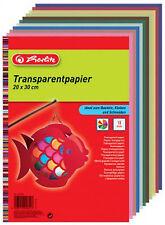 Herlitz Transparentpapier 20 x 30 cm 70 g/qm seidenmatt 10 Blatt 246413 HL791