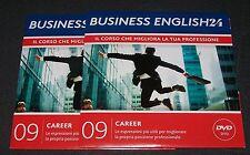 BUSINESS ENGLISH24 - 09 - CAREER - CORSO MULTIM - SOLE24ORE DVD NUOVO