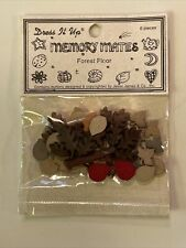 *Forest Floor* Dress It Up Memory Mates Scrapbooking Card Making Embellishments