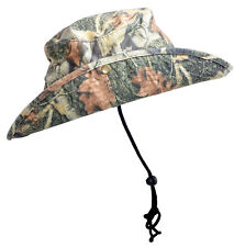 "Hunting Camp Camo Jungle Hat 3 1/2"" Brim 100% Cotton Sun Hat Fishing Hat Shade"