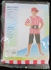 Garçon Pirate Enfants Déguisement M (122-134cm)
