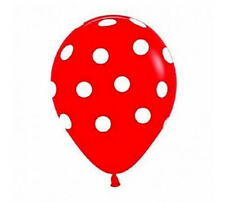 "12"" INCH POLKA DOT BABY SHOWER BALONS BALLONS BALLOONS Birthday Wedding Party"