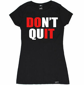 DONT QUIT WOMEN T SHIRT WORKOUT MODE BEAST CROSSFIT YOGA GYM FUNNY FITNESS SEXY