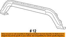 Dodge CHRYSLER OEM 14-16 Journey Front Bumper-Lower Molding Trim 68223776AA