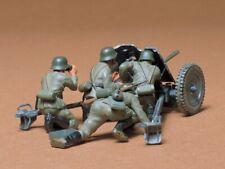 35035 Tamiya German 37mm Anti-Tank 1/35th Plastic Kit 1/35 Military