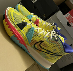 Nike Kyrie 7 EP 1 World 1 People Yellow Men Unisex Basketball Shoes CQ9327-700