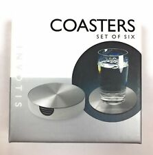 Invotis Set of 6 Coasters With Stand