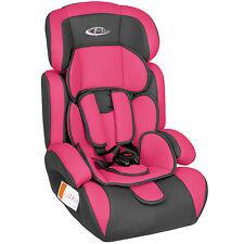 Autostoel Autokinderzitje Kinderzitje 9 - 36 kg groep 1 2 3 roze-grijs nieuw