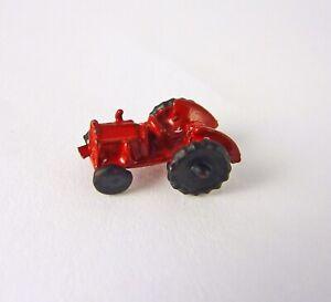 Dollhouse Miniature Artisan RED Farm Tractor Toy, 2915-1