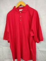 Men Polo Shirt Blue Max Size XXL Red Polo Shirt Short Sleeve