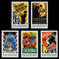 #4336-4340 42c Vintage Black Cinema, Mint **ANY 4=FREE SHIPPING**