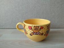 Wächtersbach Jumbotasse Kaffeetasse Kaffeepott Bärchen Bär gelb top