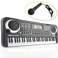 61 Saiten Keyboard Klavier E- Piano Kinder Geschenk Lernfunktion