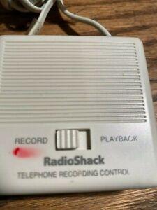 RadioShack Telephone Recording Control 43-1236