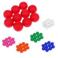 10Pcs Soft PU Foam Golf Ball Training Practice Ball Indoor Outdoor Use