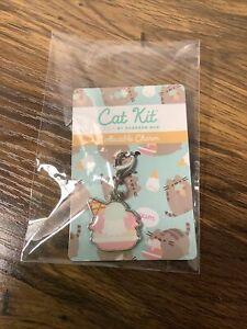 NIP Pusheen Box Cat Kit Summer 2021 Collectible Cat Collar Charm Ice Cream