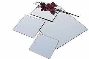 Spiegelfliesen Spiegelplatte Wandspiegel Klebespiegel 3 + 4 + 6mm Echter Spiegel