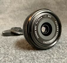 "Fujifilm FUJINON XF 18mm f/2 R Aspherical Lens ""Excellent Condition"""