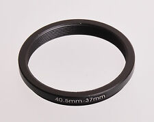 40.5mm-37mm Filter Adaptor Ring Converts 40.5mm lens thread to 37mm 37 Step-Down
