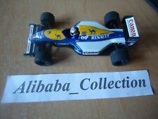 VOITURE ONYX WILLIAMS RENAULT FW14 1992 MANSELL 1/43 1:43e F1 FORMULE 1